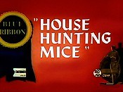 House Hunting Mice Cartoon Picture