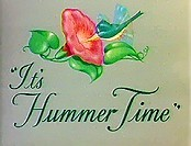 It's Hummer Time Cartoon Picture