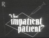The Impatient Patient Cartoon Picture