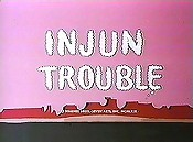 Injun Trouble Cartoon Character Picture