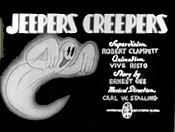 Jeepers Creepers Cartoon Picture