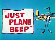 Just Plane Beep Cartoon Picture