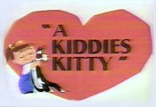 A Kiddies Kitty Cartoon Picture