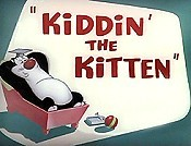 Kiddin' The Kitten Cartoon Picture