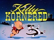 Kitty Kornered Picture Of Cartoon