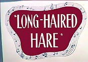 Long-Haired Hare Free Cartoon Picture