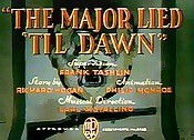 The Major Lied 'Til Dawn Pictures Of Cartoons