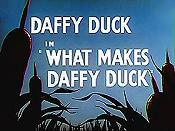 What Makes Daffy Duck Cartoon Picture