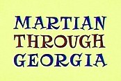 Martian Through Georgia Free Cartoon Picture