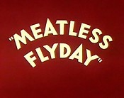 Meatless Flyday Cartoon Picture