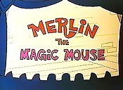 Merlin The Magic Mouse Picture To Cartoon