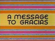 A Message To Gracias Cartoon Picture