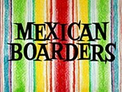 Mexican Boarders Cartoon Funny Pictures