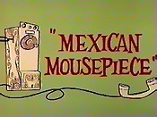 Mexican Mousepiece Picture Of Cartoon