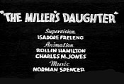 The Miller's Daughter Cartoon Picture