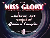 Page Miss Glory Video