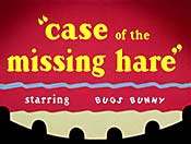 Case Of The Missing Hare Cartoon Character Picture