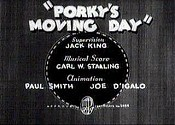Porky's Moving Day Picture To Cartoon