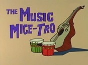 The Music Mice-Tro Picture Into Cartoon