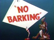 No Barking Cartoon Picture