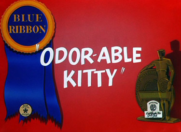Odor-Able Kitty Picture Into Cartoon