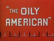 The Oily American Cartoon Picture