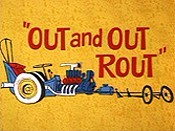 Out And Out Rout Cartoon Picture