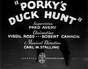 Porky's Duck Hunt Picture Into Cartoon
