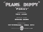 Plane Dippy Cartoon Picture