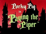 Paying The Piper Cartoon Picture