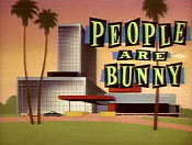 People Are Bunny Pictures In Cartoon