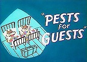 Pests For Guests Cartoon Picture