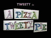 A Pizza Tweety-Pie Cartoon Picture