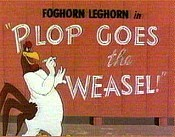 Plop Goes The Weasel Cartoon Picture