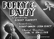 Porky & Daffy Pictures Of Cartoons