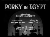 Porky In Egypt Cartoon Character Picture