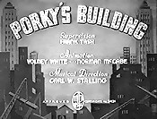 Porky's Building Pictures In Cartoon