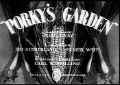 Porky's Garden The Cartoon Pictures