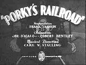 Porky's Railroad Picture Into Cartoon
