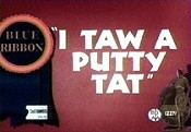 I Taw A Putty Tat Cartoon Picture