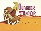 Quacker Tracker Cartoon Character Picture