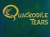 Quackodile Tears Cartoon Funny Pictures