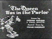 The Queen Was In The Parlor Cartoon Character Picture