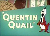Quentin Quail Free Cartoon Picture