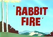 Rabbit Fire Cartoon Picture