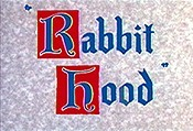 Rabbit Hood Cartoon Picture