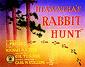 Hiawatha's Rabbit Hunt Cartoon Picture