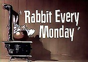 Rabbit Every Monday Cartoon Picture