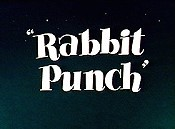 Rabbit Punch Free Cartoon Picture