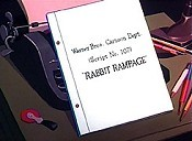 Rabbit Rampage Free Cartoon Picture